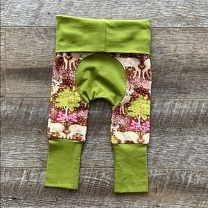 Other - Deer Floral Grow With Me Pants